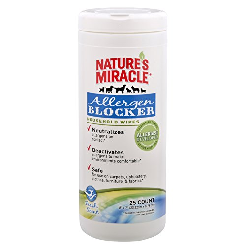 Nature's Miracle Allergen Blocker Household Wipes 25ct - Pm To Nm