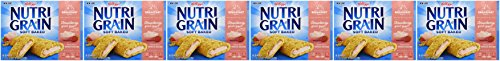 Kellogg's Nutri-Grain Yogurt Bars (Strawberry Yogurt, 10.4 oz Boxes, Pack of 6) (Yogurt With Cereal compare prices)
