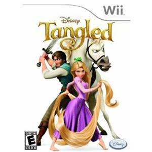 NEW Disney Tangled Wii (Videogame Software) (Disney Tangled Wii)