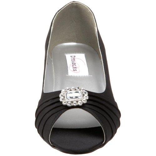 Low Black Anette Wedge Women's Dyeables Heel EwqanUCX
