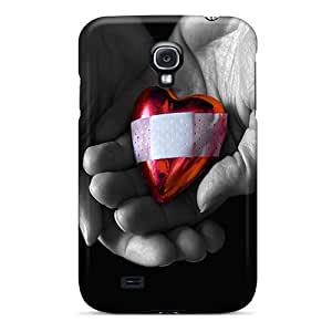 New Premium DEB5197CZkE Cases Covers For Galaxy S4/ Hurt Heart Protective Cases Covers