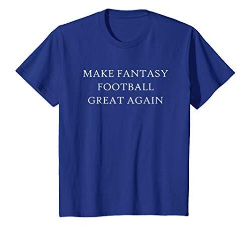 Make Fantasy Football Great Again T-Shirt Draft Commissioner