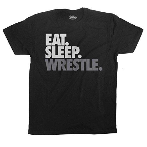 Wrestling Socks by ChalkTalkSPORTS Multiple Sizes Eat Sleep Wrestle Printed Mid Calf Socks