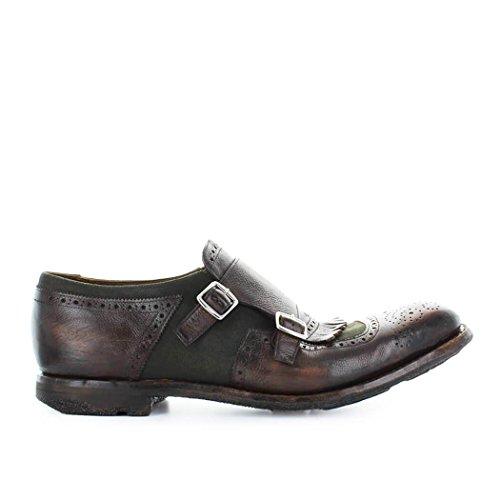 Chaussures été 10 Shanghai Homme Mocassins Burnt Church's 2018 Printemps Mimetic gaqgrPw