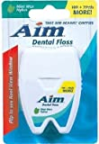 Aim Mint Waxed Floss - 120 Yards 12 pcs sku# 1187634MA