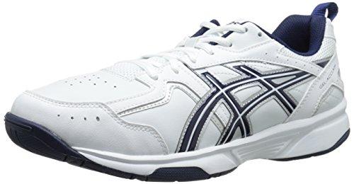 White Silver Navy Gel Mens Training Shoe Asics Acclaim Bz8wqaX