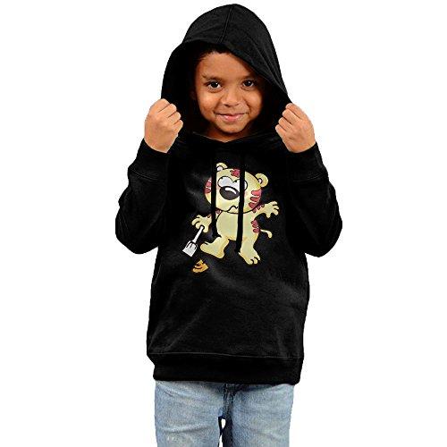 Darren The Tiger Of Shovel Feces Novelty Boys Pullover Hoodie Sweatshirt (Little Kid/Big Kid)-gift For Kid 4 Toddler