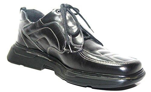 MARC , Chaussures de ville à lacets pour homme Noir Noir 41