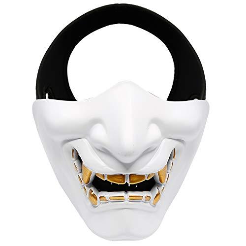 XUBA Unisex Evil Smile Tactical TPU Half Face