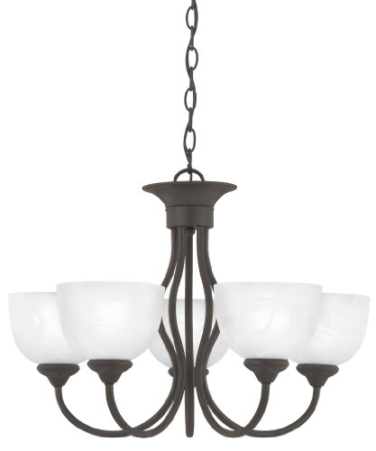 Thomas Lighting Sl8015-63 Tahoe Five-Light Chandelier, Bronze Finish