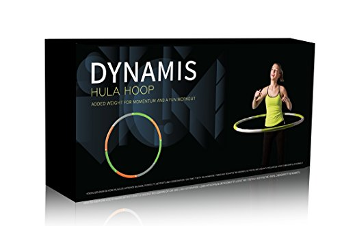 Dynamis Fat Burning Weighted Hula - Fitness Hoop Hula