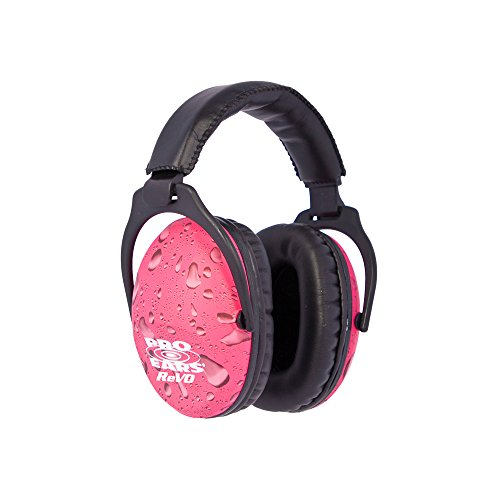 aring Protection - NRR 25 - Youth and Women Ear Muffs - Pink Rain ()