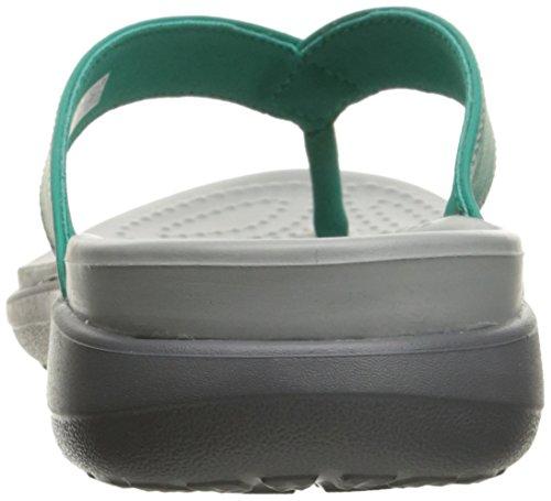 Teal Femme Capri V Crocs Flip Tongs qv0IXnnxwz
