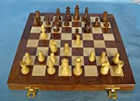 ChessCentral's Magnetic Travel Wood Chess Set