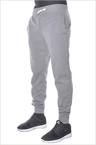 741398bd72e Amazon.com  Hat and Beyond Mens Fleece Jogger Pants Elastic Drawstring  Active Slim Fit Trousers 1HCA0003 (Medium