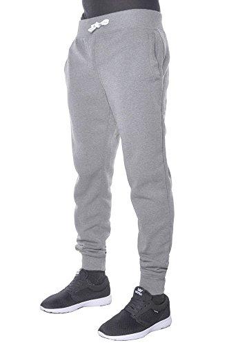 Gray Sweatpants - Hat and Beyond Mens Basic Fleece Jogger Pants Casual Gray Large
