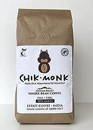 ChikMonk Medium Roast Whole Bean Coffee