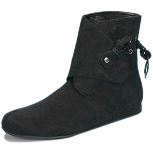 [Women's Adult Suede Renaissance Boot (Sz:MD 7-8)] (Suede Renaissance Boot Costumes)
