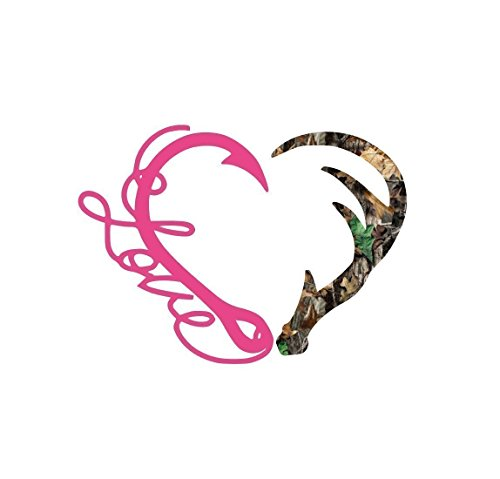 Camouflage Fishing Hunting Vinyl Decal for Her for Yeti Cup, Tumbler, Car,...
