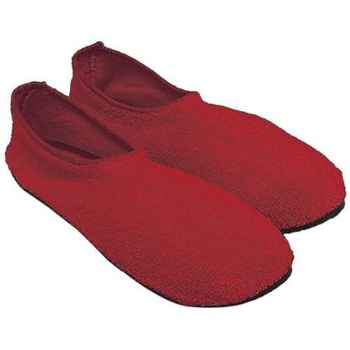 Ability Superstore – Posey Rojo Falls gestión Non Skid zapatillas extra  grande 58c5db91c64