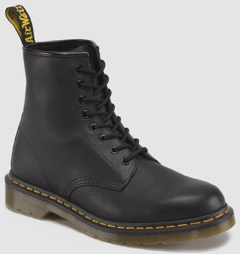 Dr. Martens 1460z Dmc G-b, Unisex Adults' Derby, Black, 12 - Uk And D G