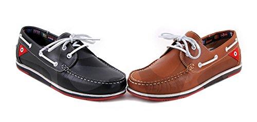 Innova Tion Innovation - 9508P - Zapato Caballero Piel - 41, Azul