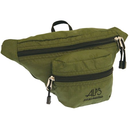 Alps Mountaineering 6Th Avenue Waist Pack- Olive, Outdoor Stuffs