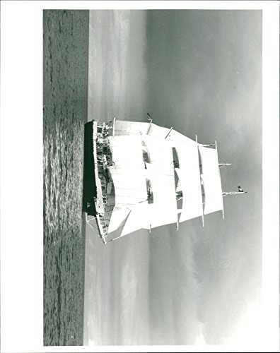 Vintage photo of The sail training ship the Lord Nelson -