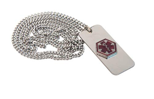"Medical Emergency Necklace -""Heart Patient"" by Apex Medical"