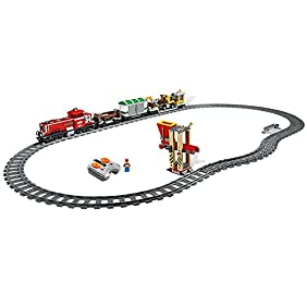 LEGO Train Set #3677 Red Cargo Train