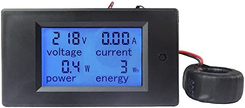 Walmeck Current Voltmeter Ammeter Voltage KWh Multimeter