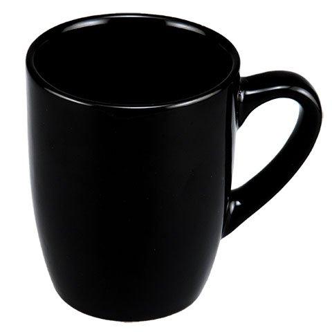 Classic Black Stoneware Mug (1 (Classic Stoneware)
