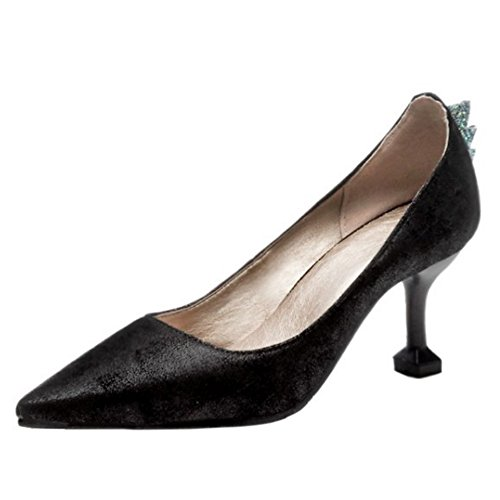 COOLCEPT Damen Geschlossene Pumps Black