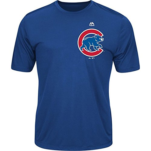- Majestic Youth Cool Base MLB Evolution Shirt Chicago Cubs XL