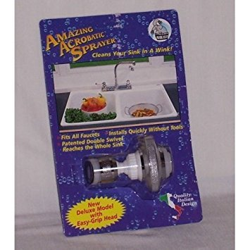 Fox Run Aluminum Deluxe Kitchen Sprayer