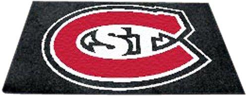 Price comparison product image Fan Mats St. Cloud University Ulti-Mat BLACK / RED / WHITE 60 X96