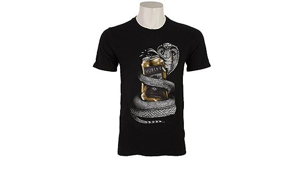 Hurley Cobra puede camiseta de manga corta para hombre: Amazon.es: Ropa y accesorios