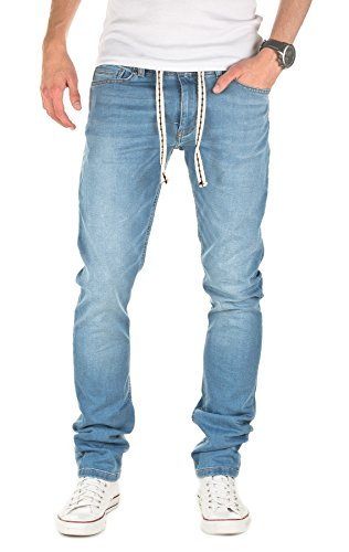 Yazubi Designer Sweatpants in Jeans-look - Rick - Jeans Jogger Pants,