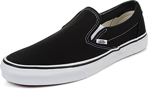Vans Slip-On(tm) Core Classics, Black/White, 11 D(M) US ()