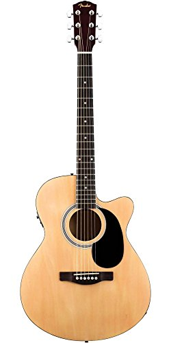 fender fa 135ce cutaway concert acoustic electric guitar natural buy online in uae musical. Black Bedroom Furniture Sets. Home Design Ideas