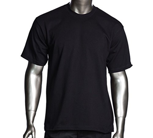Pro Club Heavyweight T-Shirt 100% Cotton Black Regular 4XL