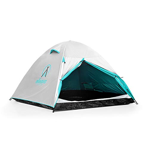 Ohnana Cool 2-Person, Heat-Blocking Rayve Tent. Perfect for Festivals, Backpacking, as Well as Beach and Family Camping. (Best Family Camping Tents 2019)