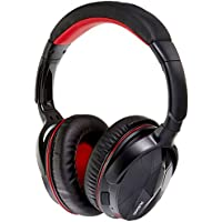 Ausdom Bluetooth4.0 Headphone , Black/Red (M04s)