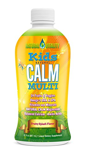 Natural Vitality Kids Calm Multivitamin - 30 oz (Pack of 3)