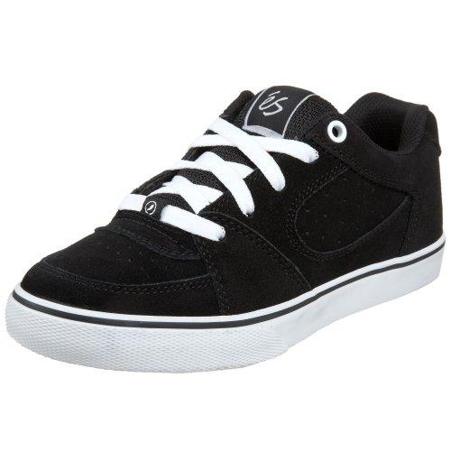 éS Square One Youth 5301000014 - Zapatillas de ante para niños Negro (Schwarz/Black/White)