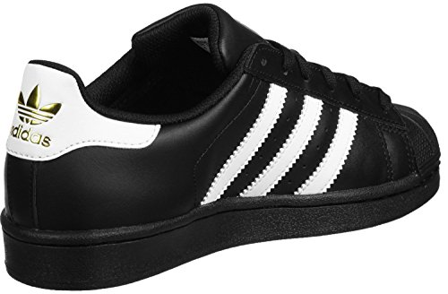 Superstar Unisex Foundation Negro Blanco Zapatillas Adidas Infantil C1qtaaU