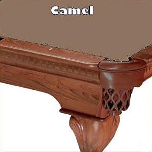 Oversize Camel Pool Table Felt - 8' Oversize Camel ProLine Classic 303 Teflon Billiard Pool Table Cloth Felt