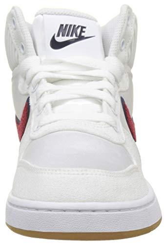 100 Donna Crush blackened Blue Multicolore Basket Ebernon Red Prem Nike da Scarpe Mid White vOYxwqC