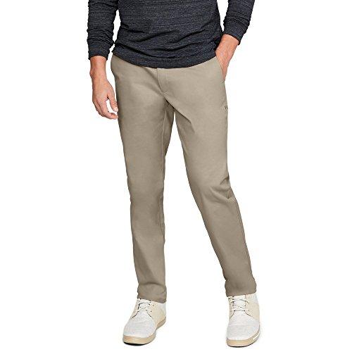 - Under Armour Men's Showdown Chino Tapered Pants, City Khaki (299)/City Khaki, 34/30