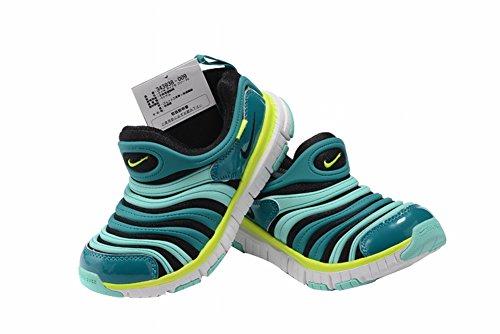 Edad Kid dinamo libre TD antideslizante suela de goma al aire libre deporte transpirable zapatos, Niños, verde, UK11.5=EUR29.5=19CM